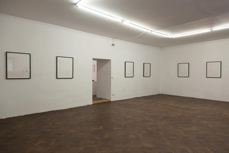 GEORG GELERNTER, Georg Chaimowicz kuratiert von Benjamin Kaufmann, Installationsansicht Büro Weltausstellung