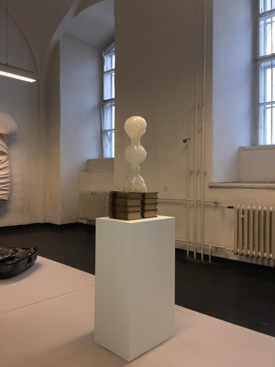 """Thomas Feuerstein   """"Ephraim""""   2011   Zucker, Acrylglas, Kunstharzversiegelung 48 x 20 x 20 cm   Courtesy Galerie Elisabeth & Klaus Thoman & the artist"""
