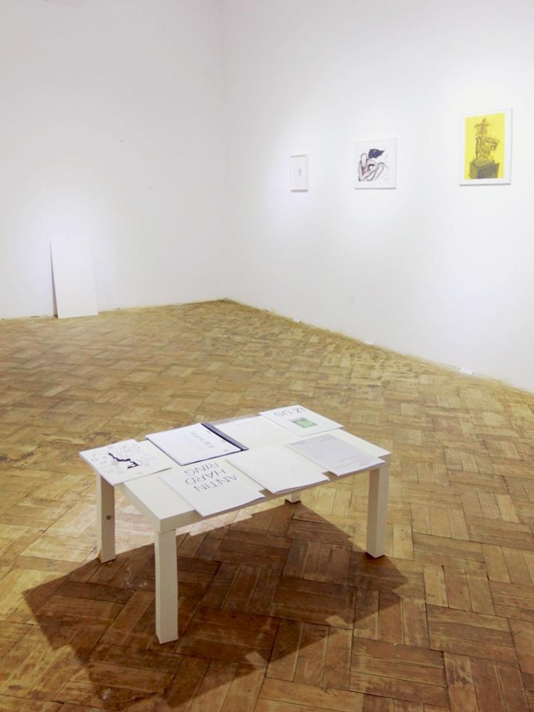 Installationsansicht ART SAFARI Bukarest, 2017