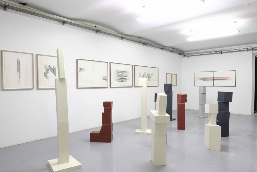 Ausstellungsansicht Peter Pilz & Florian Unterberger, Kunstraum am Schauplatz, 2017