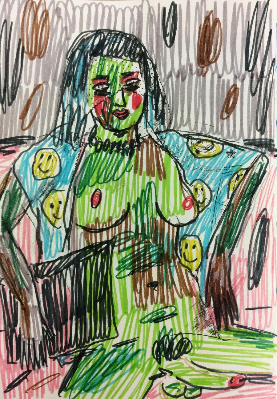 Rade Petrasevic, Zeichnung, 2015