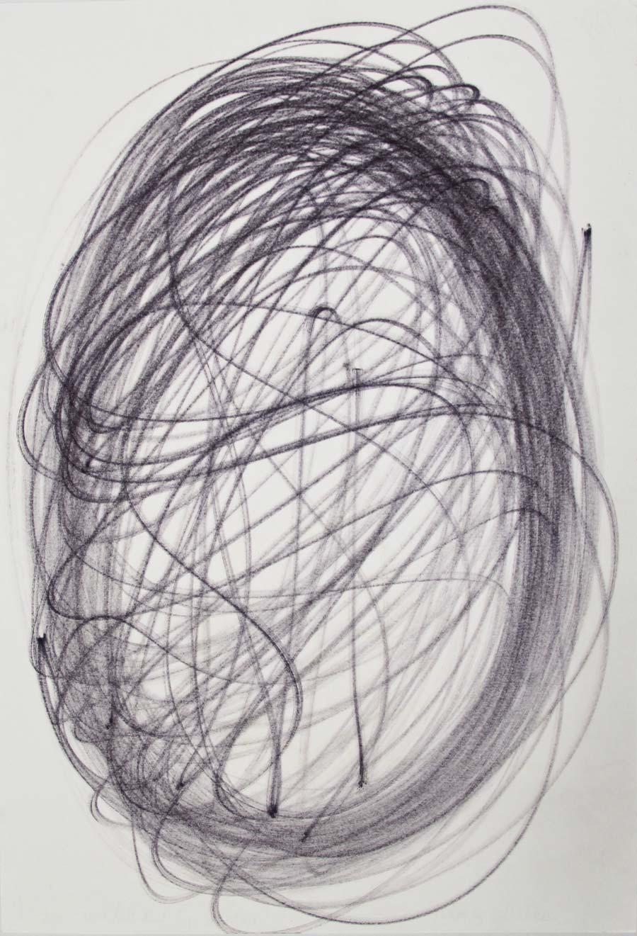 """2edmar"", 2014, 42x29,5cm, permanent maker on paper"