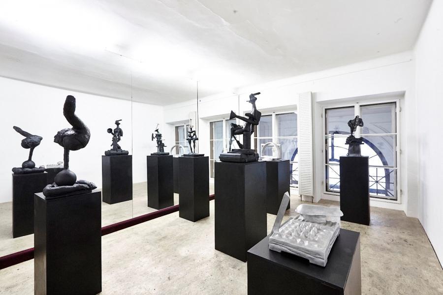 Installationsansicht, Foto: Sandro Zansinger