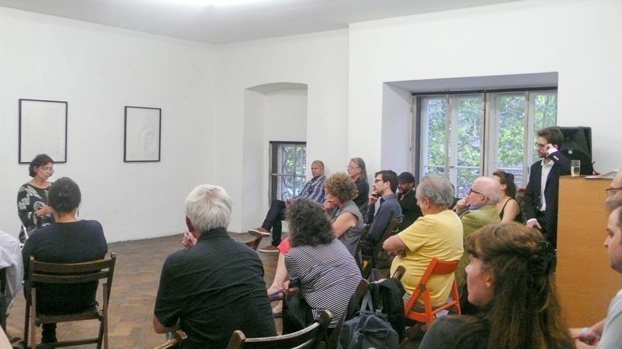 Dagmar Schwarz, Büro Weltausstellung, Juli 2014