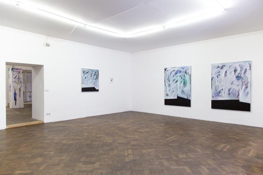 Nino Sakandelidze, installation view Büro Weltausstellung 2015