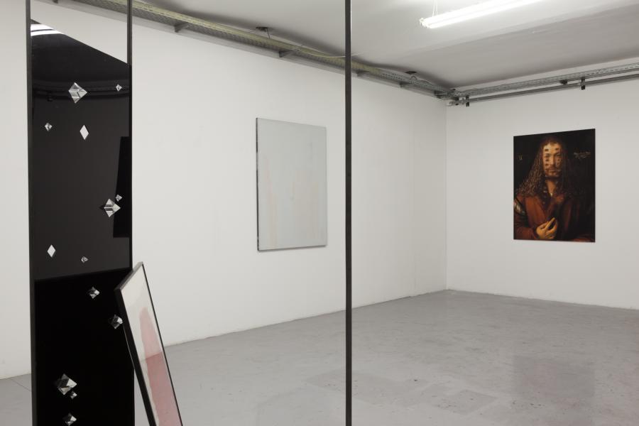 Installationsansicht DIAMANTEN, Kunstraum am Schauplatz, 2017, Foto Björn Segschneider