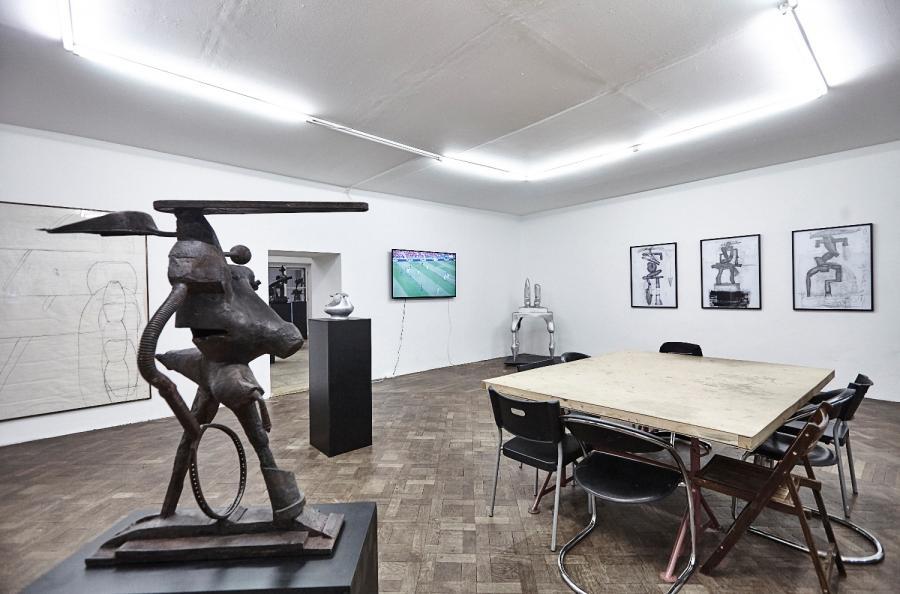 Ausstellungsansicht Bruno Gironcoli & Begi Guggenheim, Foto: Sandro Zanzinger