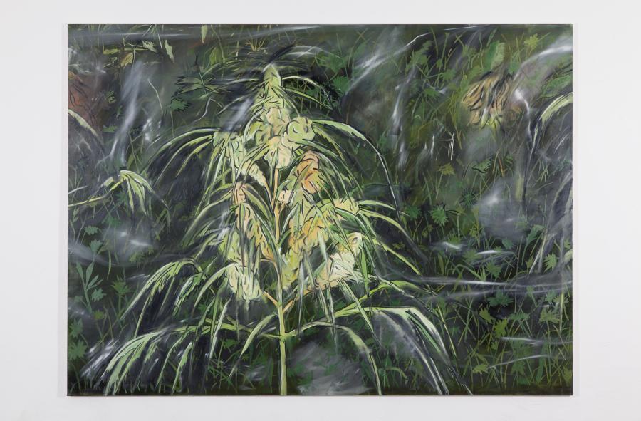 Alex Ruthner, oT, 200 x 370 cm, 2015