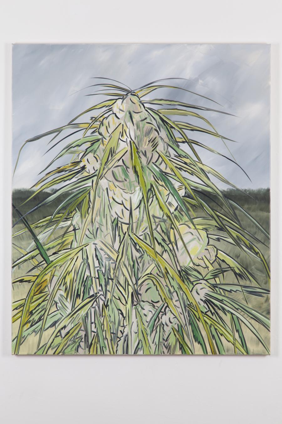 Alex Ruthner, oT, 120 x 100 cm, 2015