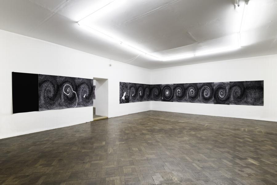 Andy Hope 1930, Ausstellungsansicht Büro Weltausstellung 2015