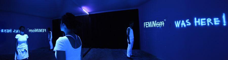 Anna Ceeh, Iv Toshain, Installationsansicht Spiegelkabinett, © Anna Ceeh, Iv Toshain