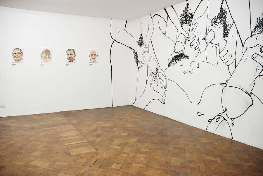 Judith Rohrmoser, Installationsansicht