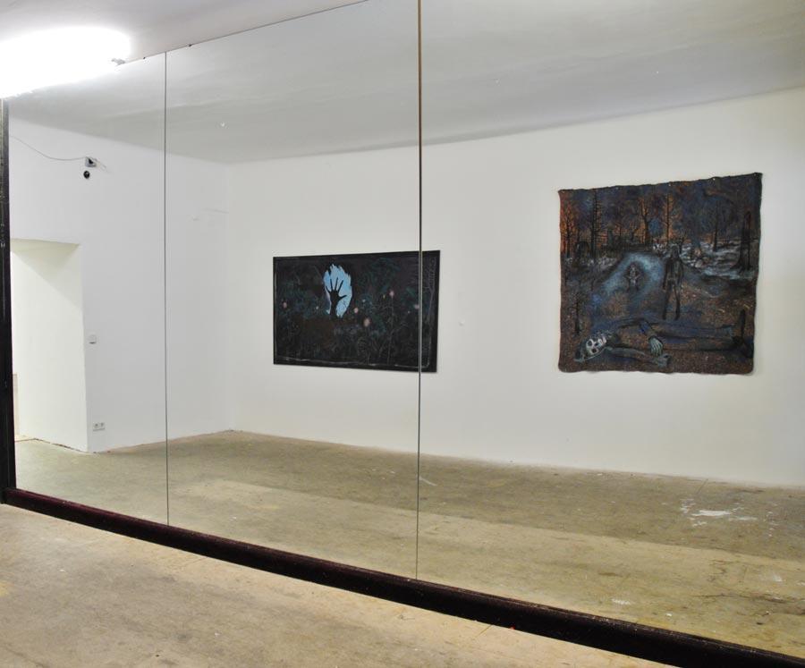 Lutz Braun, Installationsansicht