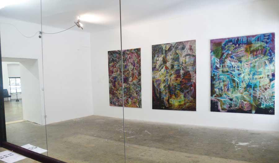 Matthias Buch, Installationsansicht